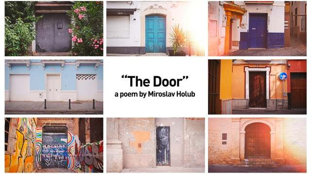 The Door – A poem by Miroslav Holub