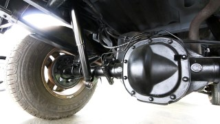 How shock absorbers work, an under the car view