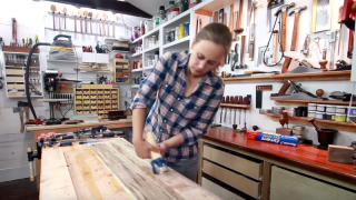 Making a baseball bat from rough-sawn lumber – Darbin Orvar