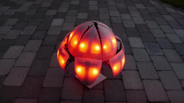 MorpHex MKIII, the glowing, transforming robot