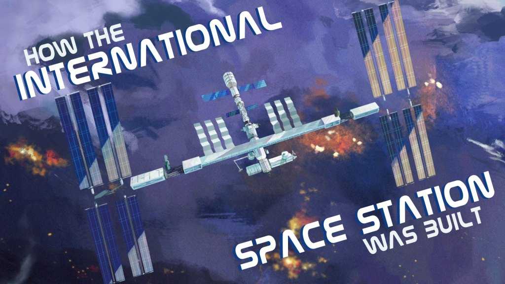 How the international space station was built ted ed for Ted s fishing station
