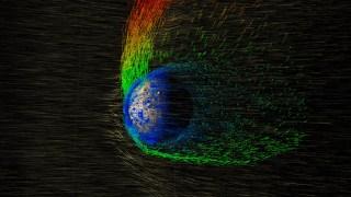 Solar Wind Strips Martian Atmosphere –NASA Goddard