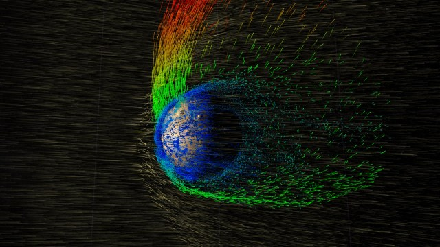 Solar Wind Strips Martian Atmosphere – NASA Goddard
