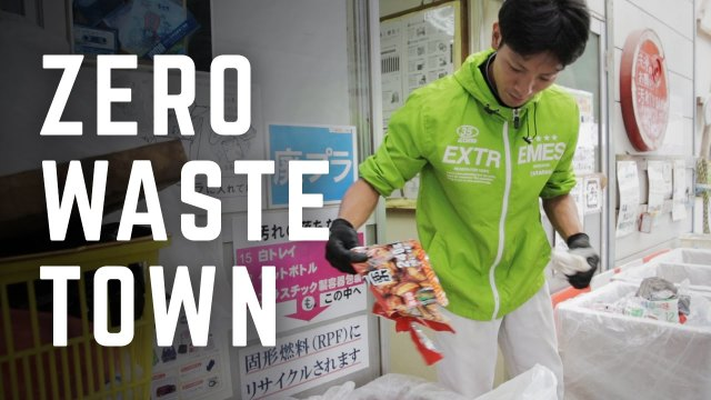 How this Japanese town is working to produce no trash