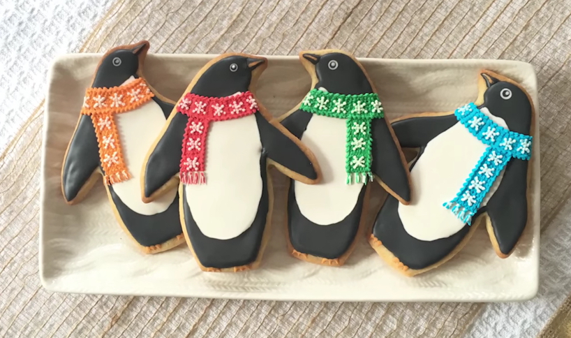 How To Decorate Penguin Cookies Sweetambs