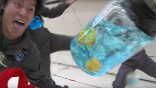 Zero Gravity 360° + Weightless Water Experiments