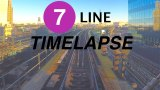 4K NYC Subway time lapse: Riding the Queens-bound 7 line