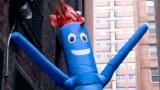 The origin of the dancing inflatable tube man
