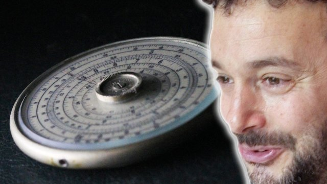The iPhone of Slide Rules – Numberphile