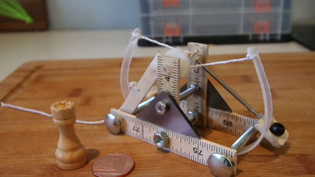 How To Make A Mini da Vinci Catapult