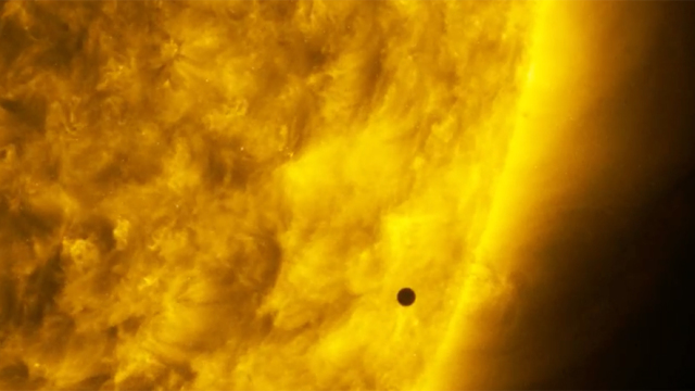NASA's SDO captures the Mercury Transit in time lapse