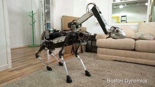 Boston Dynamics' new SpotMini robot