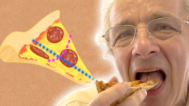 The Remarkable Way We Eat Pizza – Numberphile