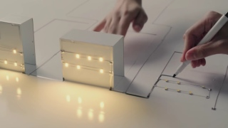 The AgIC marker draws circuits with conductive ink