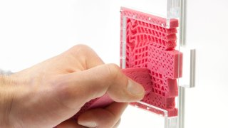 3D-printed Metamaterial Mechanisms