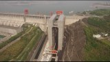 The world's largest ship elevator opens at China's Three Gorges Dam