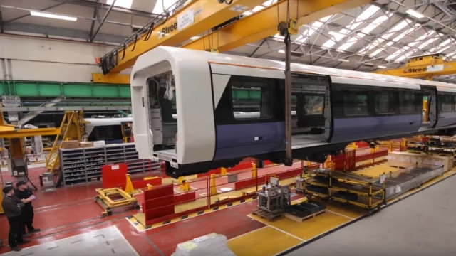 Building a Class 345 railcar for the Elizabeth line