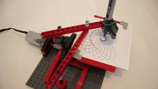 JK Brickworks' LEGO Drawing Machine