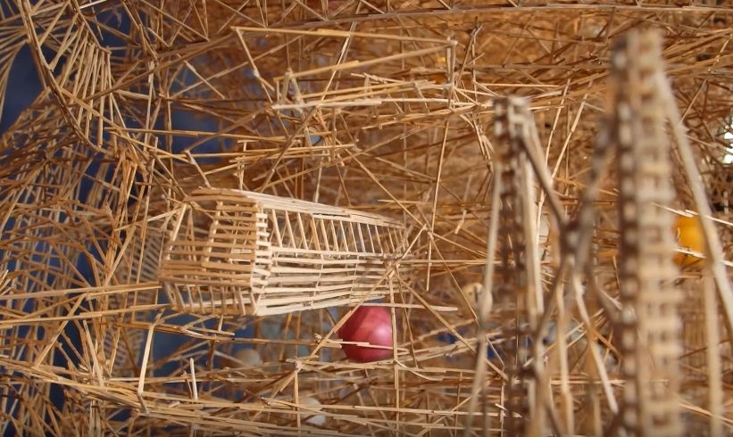 how to make toothpick sculptures