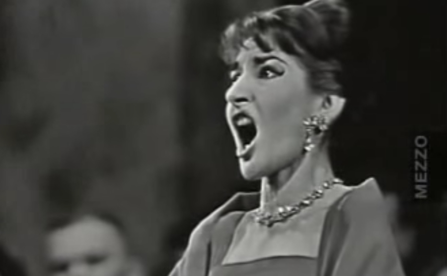 Maria callas sings o mio babbino caro and casta diva the - Callas casta diva ...