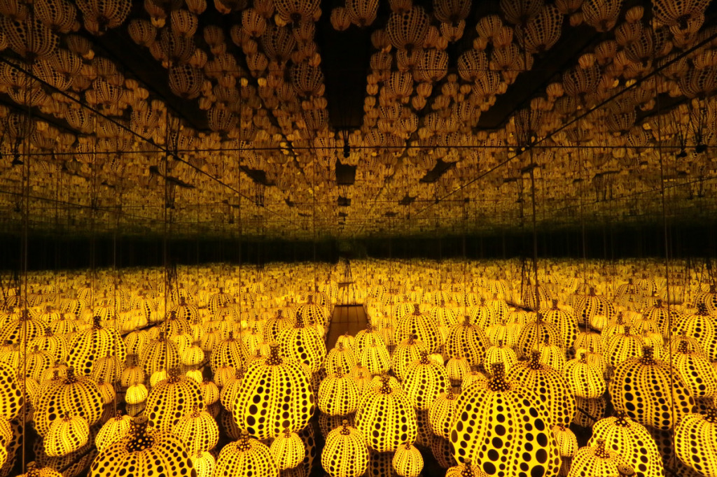 Yayoi Kusama S Infinity Mirrors The Kid Should See This