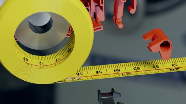 What's inside a tape measure?