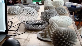 Creating The Never-Ending Bloom: John Edmark's spiral geometries