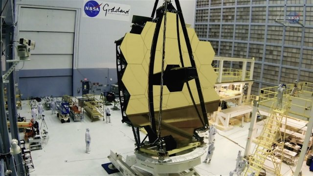 Readying the Webb Telescope for Launch