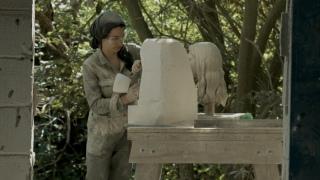 A Continuous Shape: Stonecarver Anna Rubincam creates a portrait