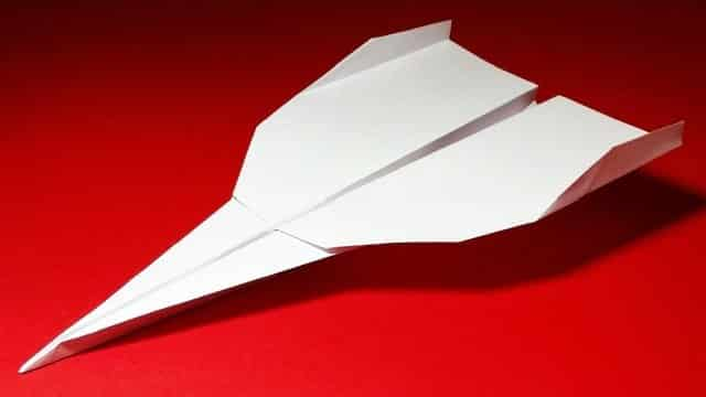 How to make a paper airplane that flies far: Strike Eagle