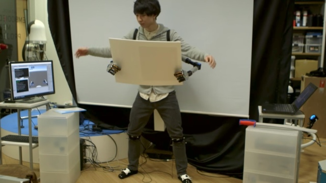 MetaLimbs: Extra robot arms that you control with your feet