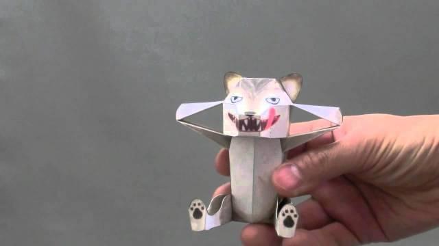 Haruki Nakamura's surprising paper karakuri animals