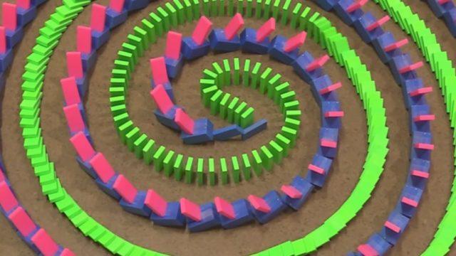 Unconventional Domino Tricks by Hevesh5 & Kaplamino