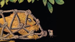 The Lion and the Mouse (1976) –Evelyn Lambart