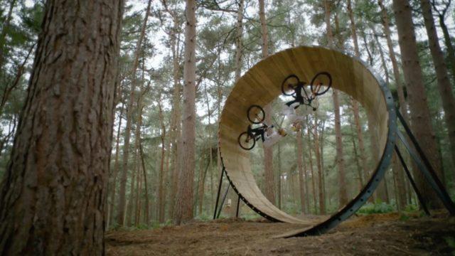 Frames of Mind: Tricks visualized by freestyle mountain biker Matt Jones