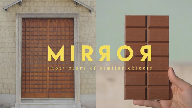 Mirror, a short story of similar objects
