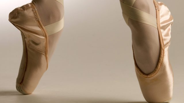 How ballet pointe shoes are made for The Royal Ballet