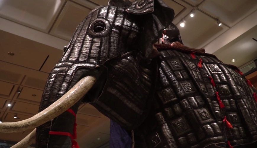 1cd6f205b Elephants of War: Elephant armor (bargustavan-i-pil) from India, circa 1600