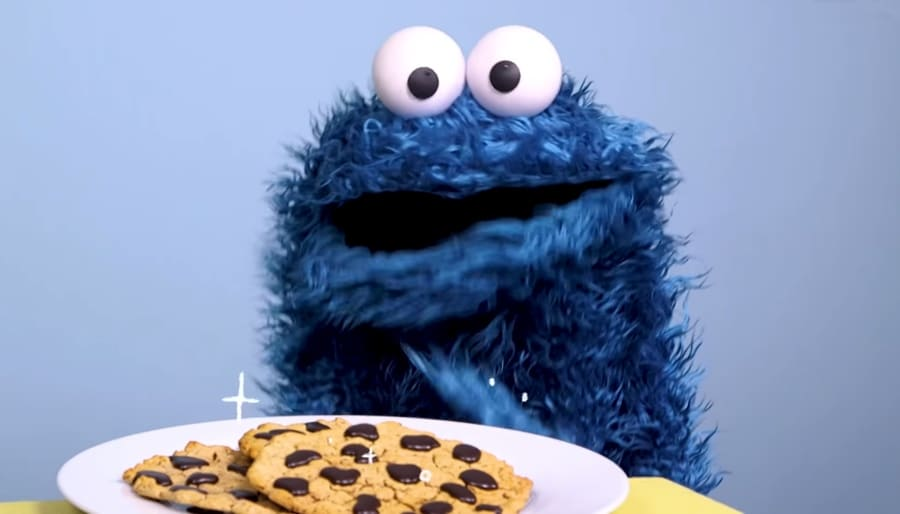 Cookie Monster Practices Self-Regulation