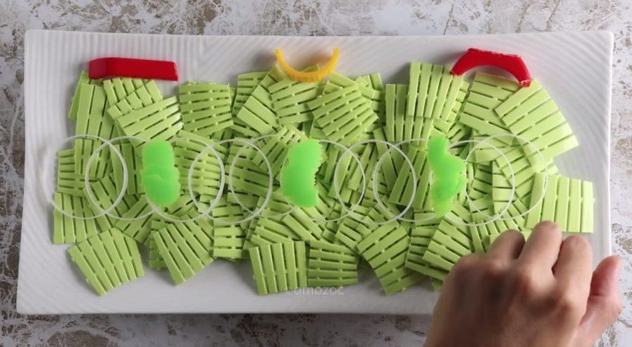 plastic salad