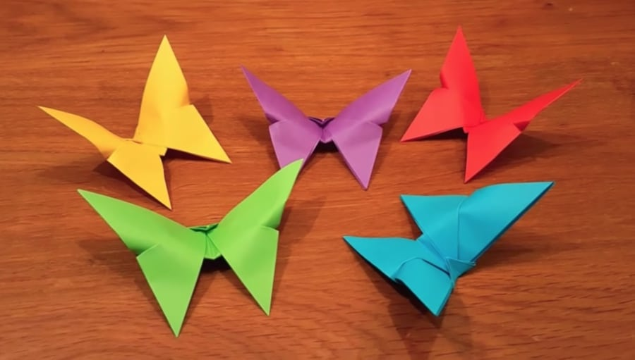 Best Origami Butterfly Ever — Instructions | Go Origami | 511x900